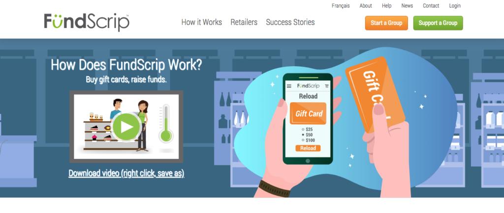 FundScrip header image